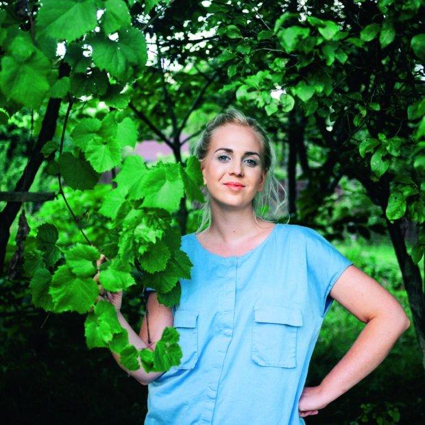 Marta Dymek - wielbicielka roślin, autorka bloga jadlonomia.com, programu