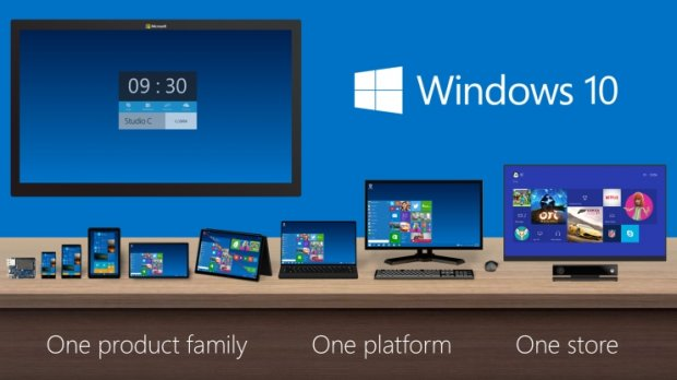 Windows 10 ma działać na wszystkich platformach