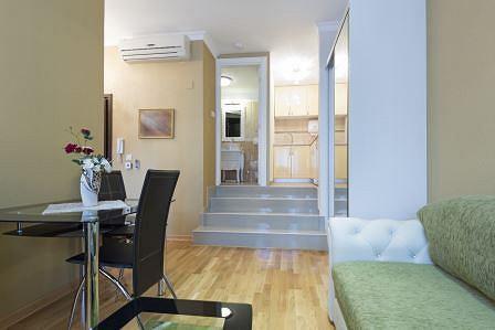 Wnętrze przykładowego mieszkania kompaktowego