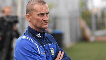 Arka Gdynia rozpoczyna przygotowania do kolejnego sezonu. Na pierwszym treningu piłkarze mieli okazję zapoznać się z nowym trenerem Dariuszem Dźwigałą