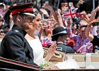 On zachwycony, ona zachwycająca. Ślub brytyjskiego księcia i amerykańskiej aktorki wzruszał i bawił