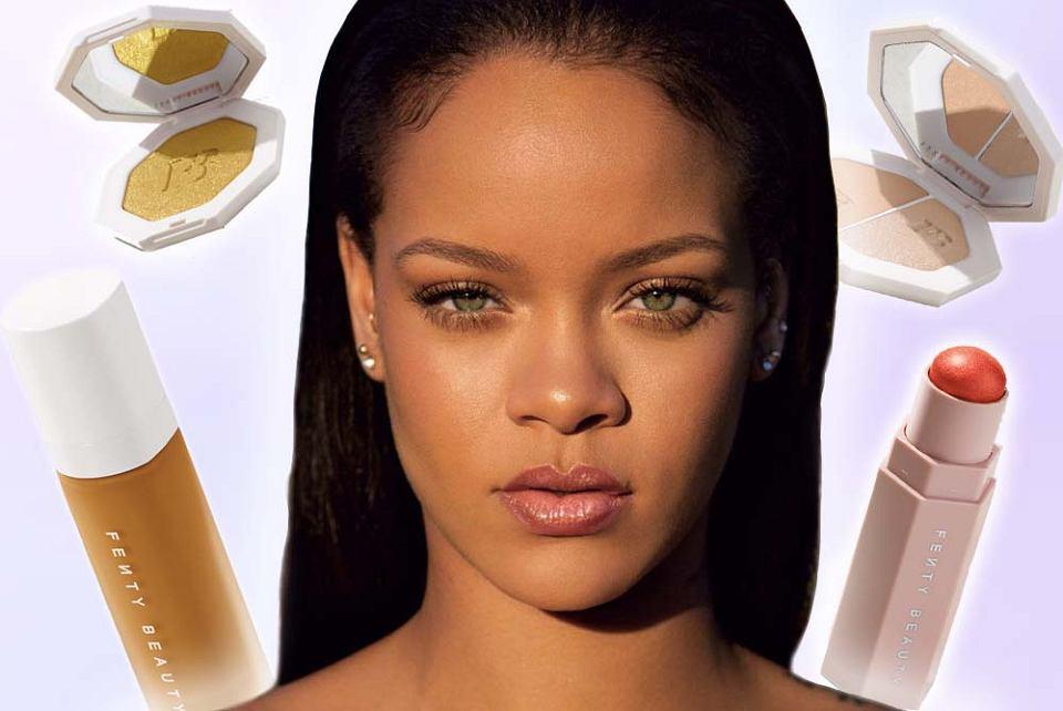 Kosmetyki Rihanny nareszcie w sprzedaży. Fenty Beauty mają pasować każdemu - jest 40 odcieni podkładu