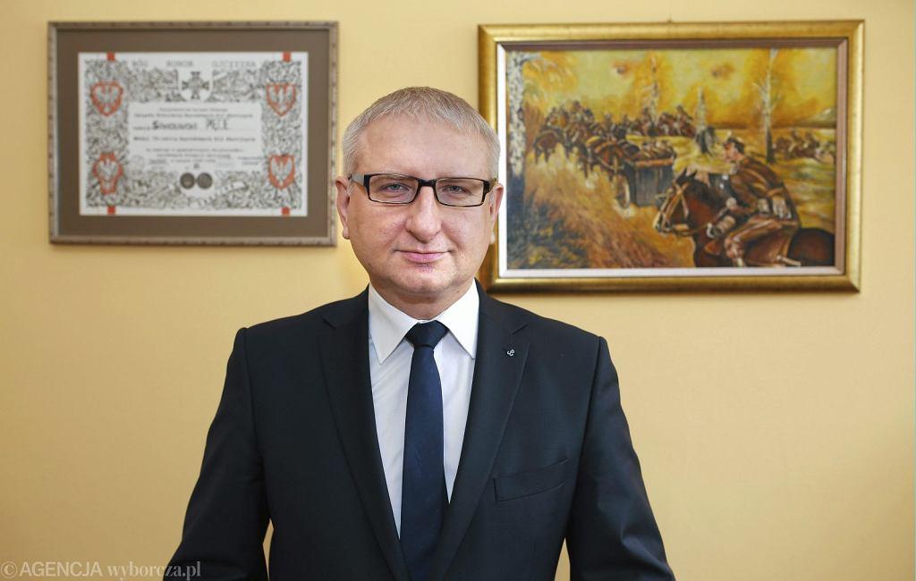 Poseł Stanisław Pięta (fot. Dawid Chalimoniuk/AG)