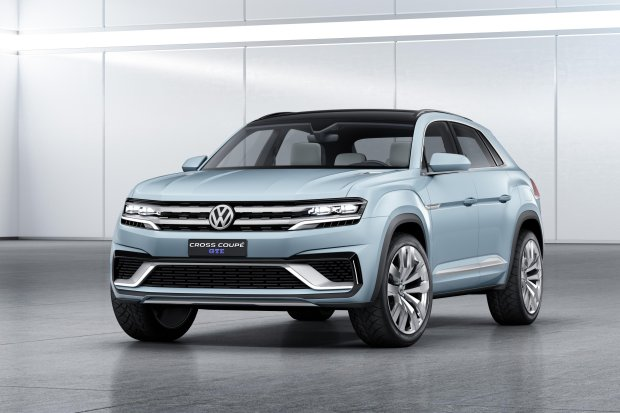Salon Detroit 2015 | Volkswagen Cross Coupe GTE | Kolejny SUV