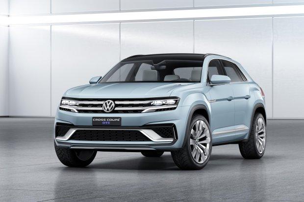 Salon Detroit 2015   Volkswagen Cross Coupe GTE   Kolejny SUV
