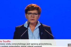 Beata Szyd�o przedstawia program PiS. Trzy priorytety i pi�� �r�de� finansowania [SZCZEGӣY]