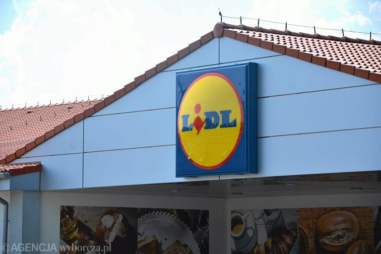 Sklep Lidl, zdjęcie ilustracyjne
