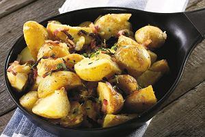 Ziemniaki pieczone z tymiankiem