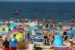 Zakaz k�pieli w kilku miejscowo�ciach nad morzem. Bakterie coli