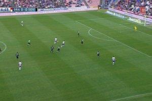 Sevilla przegra�a z Granad�. B��d Krychowiaka [ELEVEN SPORTS NETWORK]