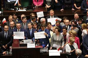PO: posłowie ukarani za grudniowy protest w Sejmie
