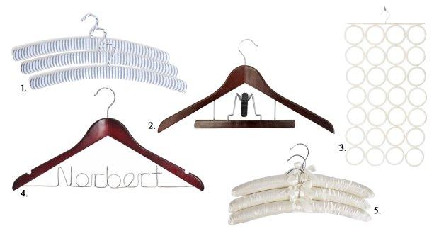 Wieszkai na ubrania, oferta rynkowa