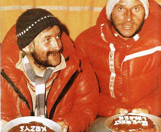 Krzysztof Wielicki i Leszek Cichy