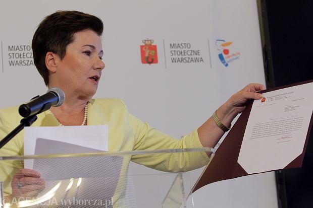 Gronkiewicz-Waltz o reprywatyzacji: Będą dyscyplinarne dymisje urzędników w ratuszu