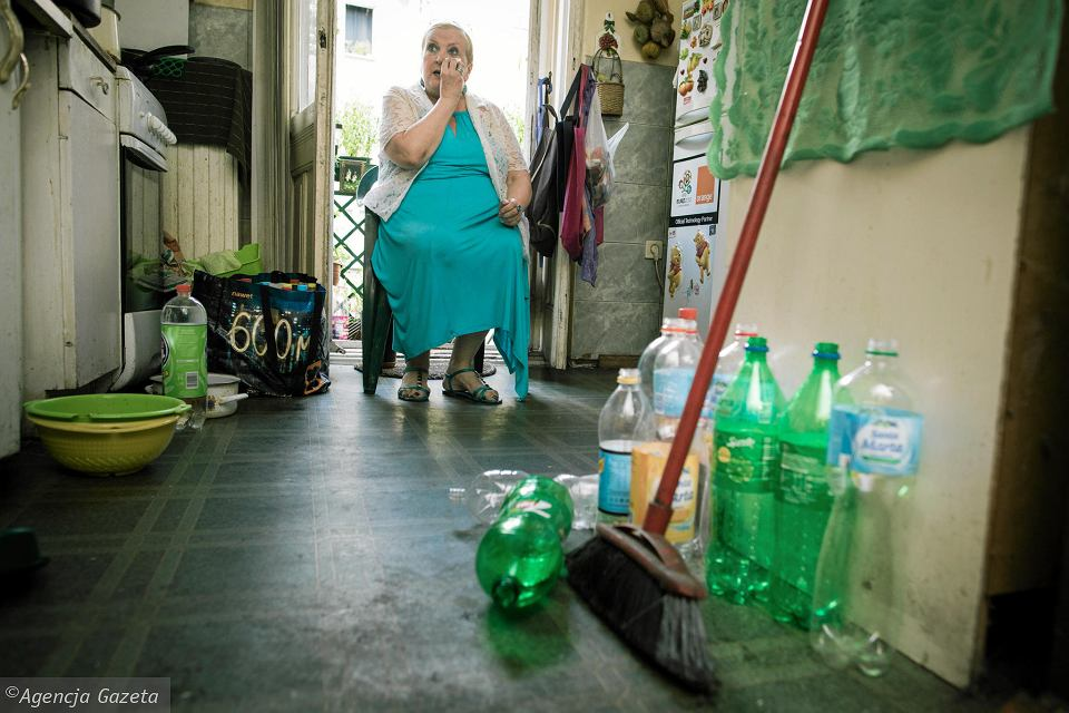 Barbara Lembicz od ponad tygodnia nie ma w mieszkaniu wody