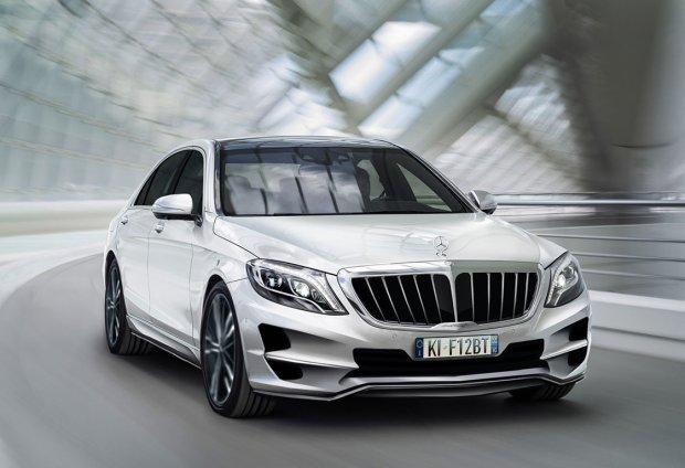 Mercedes klasy S | Szale�stwo tunera