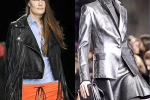 Trendy na jesie� 2012 - sk�rzane kurtki