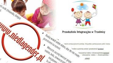 Materiały na stronie przedszkola w Trzebnicy