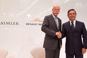 Renault-Nissan i Daimler rozszerzaj� wsp�prac�