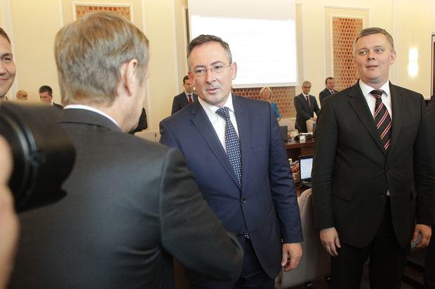 Pierwsze posiedzenie rządu po