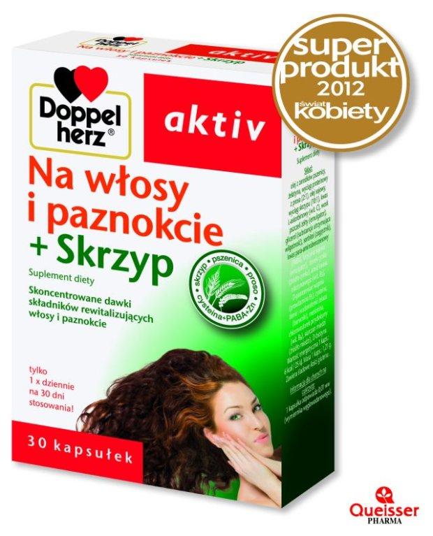 Doppelherz aktiv Na włosy i paznokcie + Skrzyp (Suplement diety)