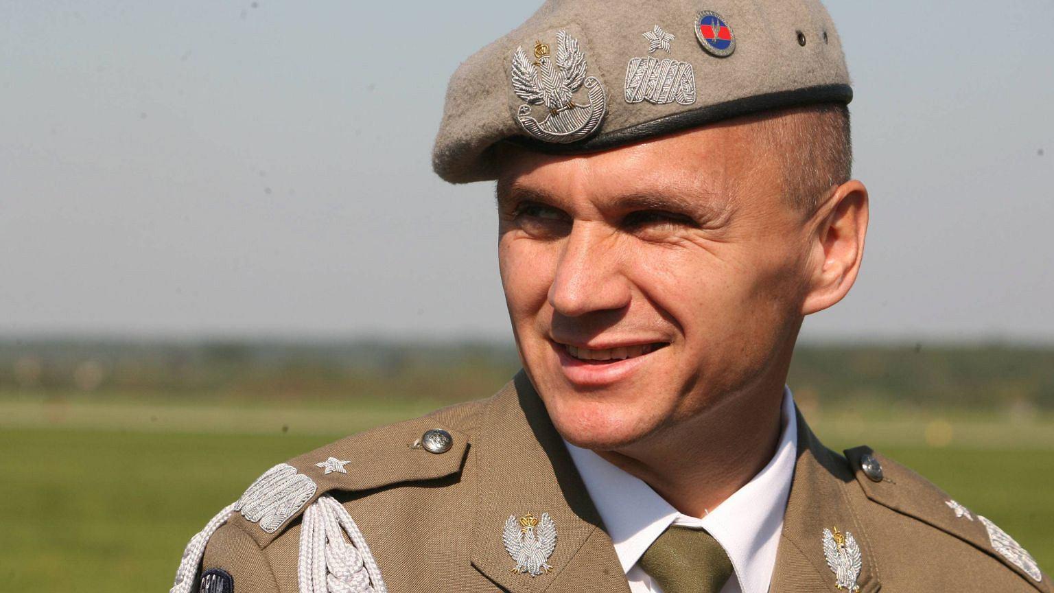 Generał Roman Polko w 2006 r.