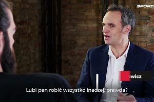 """Cillian Sheridan w """"Wilkowicz Sam na Sam"""": Czasem, gdy Michał Probierz się rozpędzi, to mówię sobie: całe szczęście, że jeszcze nie znam polskiego. I że to nie na mnie krzyczy"""