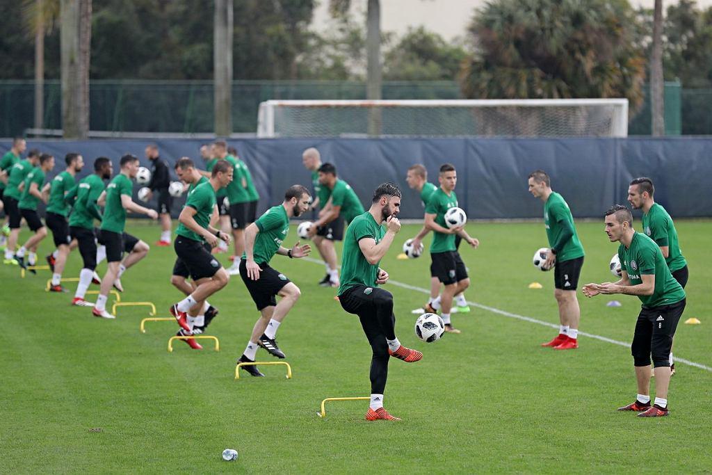 Legia trenuje na Florydzie