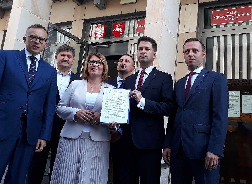 Działacze PiS w Lublinie