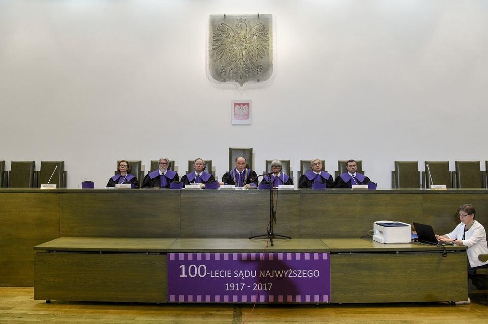 Sąd Najwyższy  ws. konstytucyjnego prawa łaski. Na zdjęciu sędzia Jarosław Matras