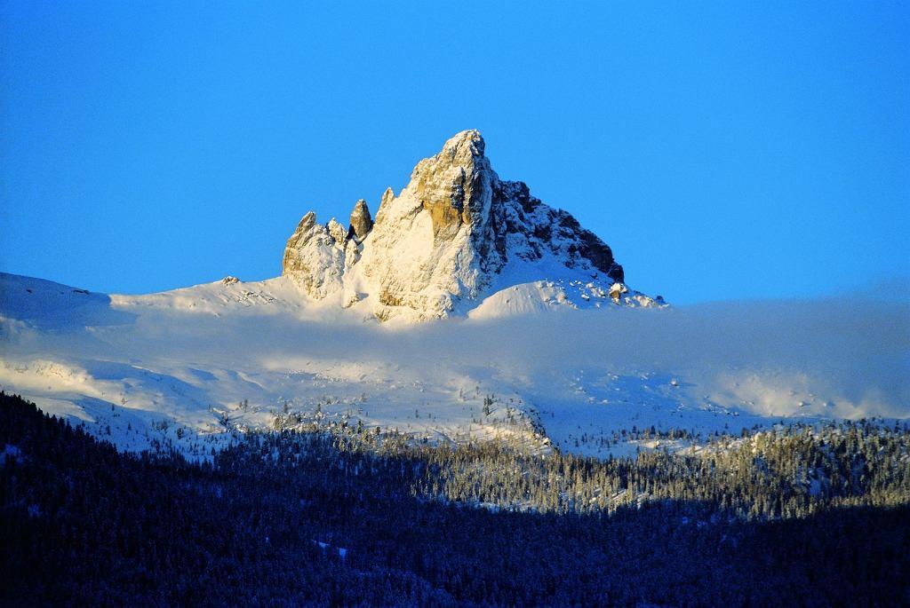 Cortina d'Ampezzo, widok na