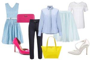 Błękit w roli głównej - z czym łączyć błękitne ubrania