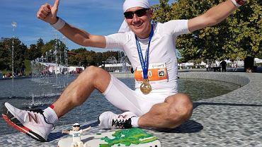 Marcin Soszka. Ukończył 100 maratonów i pokonał królewski dystans w 61 stolicach Europy.