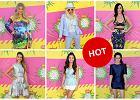 Multikolorowe stylizacje gwiazd na gali Kids' Choice Awards - czyja najlepsza? [SONDA�]