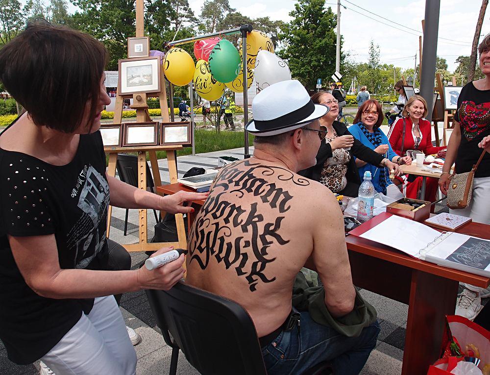 Body lettering, Barbara Galińska / zdjęcie promocyjne