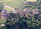 Zamek Rheinfels, niemcy, dolina renu