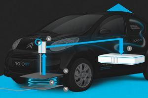 Bezprzewodowe �adowanie samochod�w elektrycznych