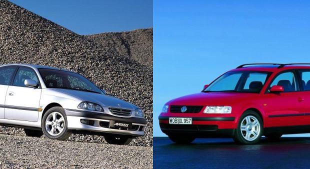 Pojedynek u�ywanych | Passat vs Avensis