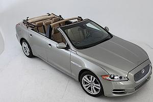 Jaguar XJ jako... kabriolet