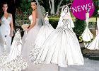 Suknie �lubne Kim Kardashian - zdj�cia z People
