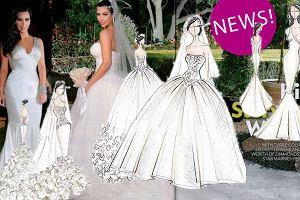 Suknie ślubne Kim Kardashian - zdjęcia z People