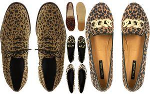 motywy zwierzęce, cętki, buty, panterka, obuwie, jesień 2011