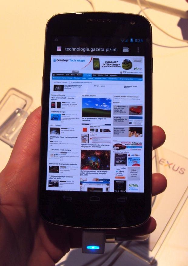 Google: tak, wiemy o problemach z Galaxy Nexusem