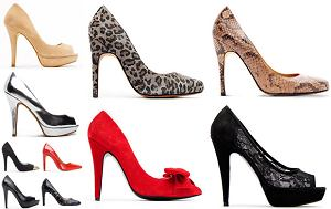 buty, szpilki, obuwie, czó�enka, pantofle