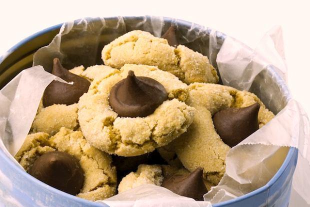 Orzechowe ciasteczka z czekoladą