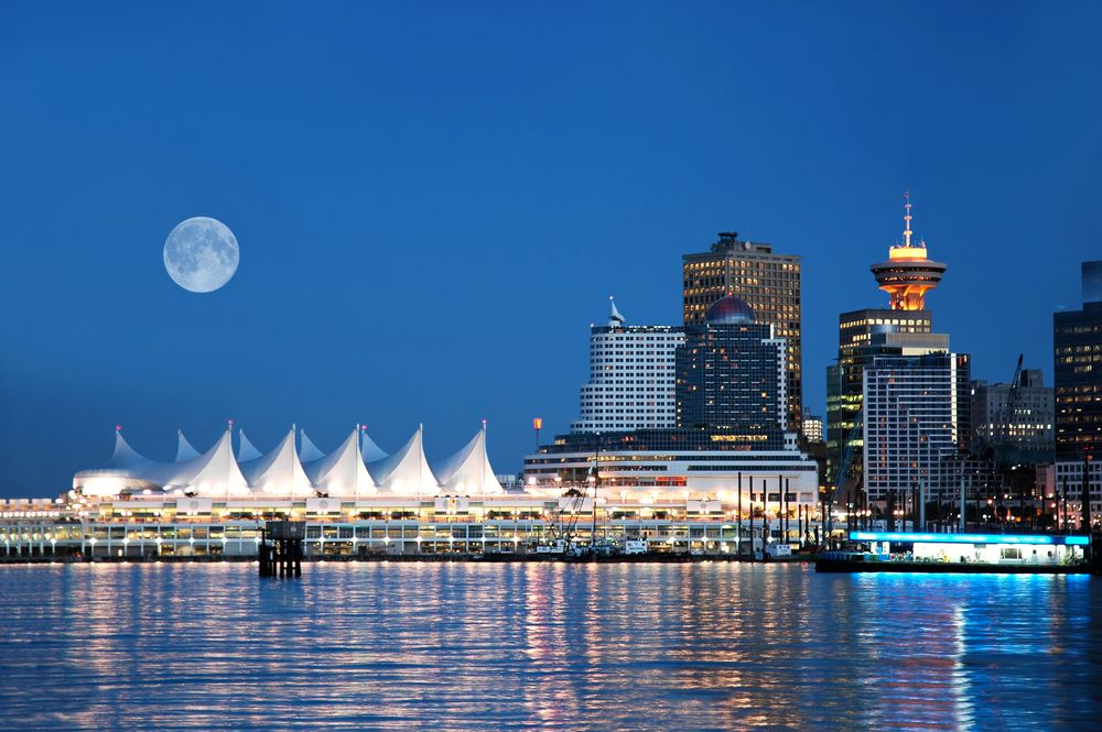 Miasto Vancouver podczas pięknej pogody - Kanada / fot. Shutterstock