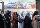 Kair stoi w kolejce do g�osowania