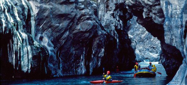 colca, rafting, peru, kanion, podróże