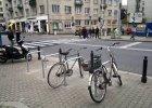 Można zostawić rower w centrum. Są nowe stojaki