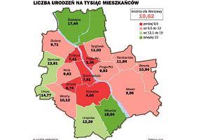 Gwa�towny koniec wy�u demograficznego w Warszawie